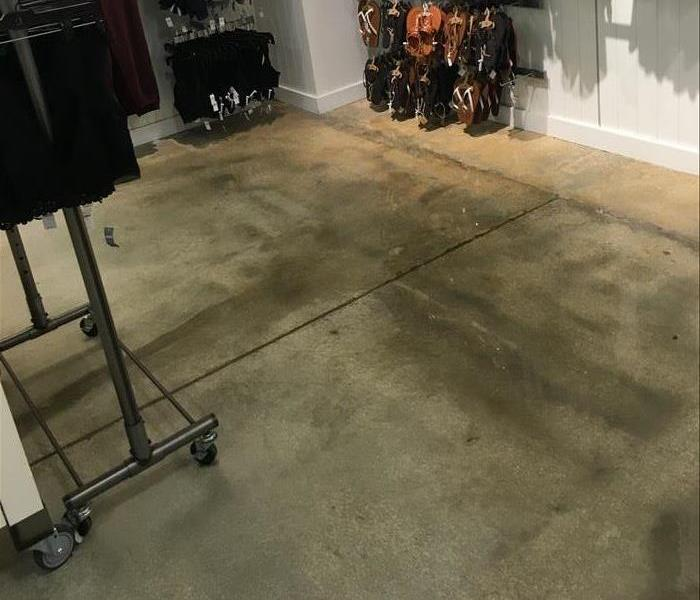 Department Store Water Damage After